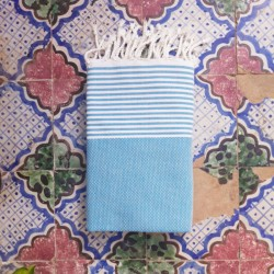 Fouta Partridge Eye white...